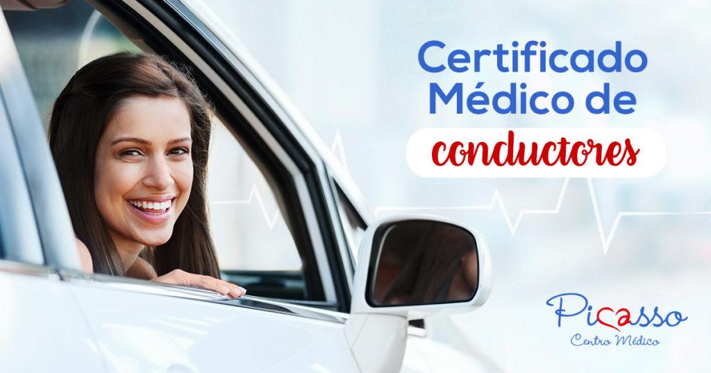 Certificado médico de conductores en Picasso Centro Médico