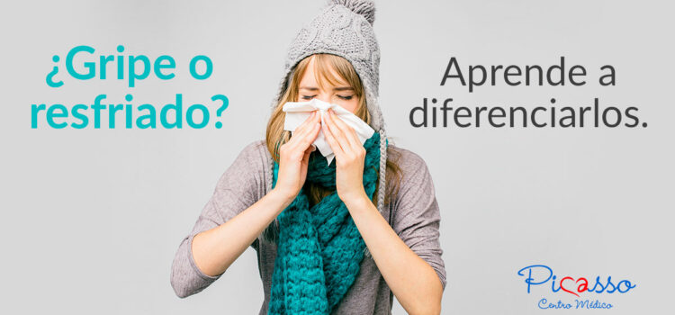 ¿Gripe o resfriado?  Aprende a diferenciarlos